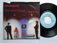 """Rheingold / Das Steht Dir Gut 7"""" Vinyl Single 1982 mit Schutzhülle"""