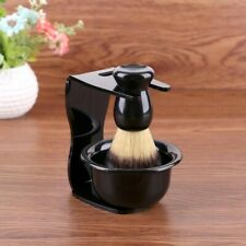 Shaving Soap Bowl Brush Mug Shave Razor Men Cup Steel Barber Set Haircut Beard