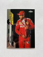 2020 Topps Chrome Formula 1 Racing Sebastian Vettel DotD Russia Card #169