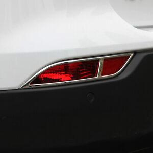 Chrome Rear Fog Light Cover 2pcs for Buick Encore / Vauxhall Opel Mokka 17-18