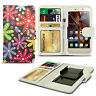 For HTC Windows Phone 8X - Printed Design PU Leather Wallet Case Cover