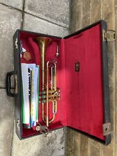 """Boosey And Hawkes Trumpet 78"""" And Case Ga 83658"""