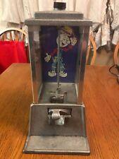 "Vintage Bubble Gum 1c Machine ""Reddy Kilowatt"" Advertising"