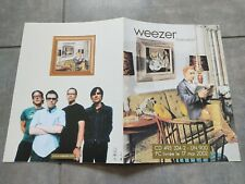 WEEZER MALADROIT RARE FRENCH PROMO MEDIA PLAN 4 Pages Gatefold A4