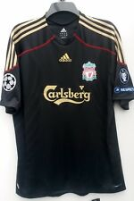 Liverpool Away Camicia 2009 2010 XL nuova con etichetta manica corta 18 KUYT CHAMPIONS LEAGUE