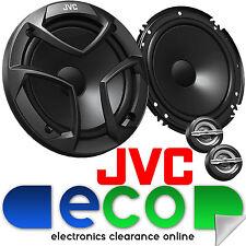 """Vw polo 6N2 1999-2003 jvc 17cm 6.5"""" 600 watts composant de porte avant voiture haut-parleurs"""