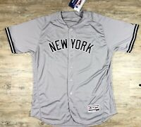 New York Yankees Majestic Flex Base Authentic Giancarlo Stanton Jersey Size 52