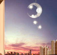 Modern 5 Lights Moon Star Pendant Lamp Hanging Lighting Ceiling Chandelier