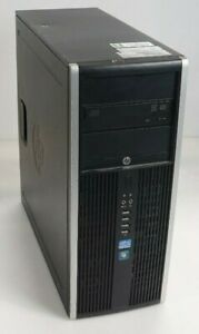 HP Compaq Elite 8300 CMT Intel i7-3770 3.4GHz 4GB 500GB HDD Fair No DVD OS