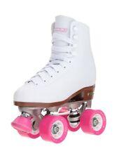 Chicago Women's Classic Roller Skates – White Rink Skates 8