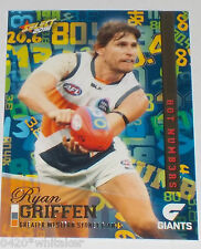 2016 Select AFL Footy Stars Hot Numbers #HN67 Ryan Griffen - G.W.S.