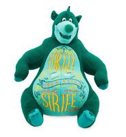 "Disney Wisdom Plush #3 Baloo Jungle Book Limited Release Stuffed Animal Bear 14"""