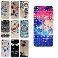 Pattern Delgado TPU Gel Silicona Carcasa Funda Case Cover For iPhone 6 6s 7