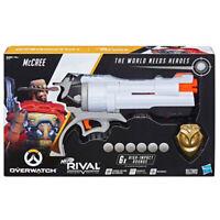 Overwatch Nerf Rival McCree Revolver Hasbro Blaster