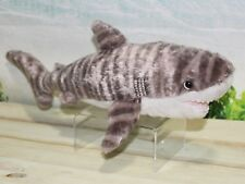 "Wild Republic TIGER SHARK 13"" Plush Cuddlekins Stuffed Ocean Animal NEW"