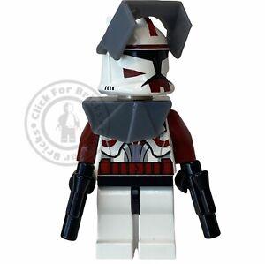LEGO Genuine Clone Commander Fox Pauldron Minifigure Star Wars From 7681 sw0202
