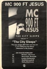 """8/2/92Pgn30 Advert: wish List Debut Album From Falling Joys Out Now 7x5"""""""