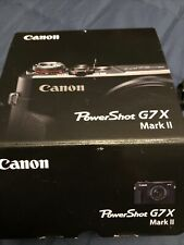 Canon PowerShot G7 X Mark II Camera, Wifi, Battery, Charger And Sony Case