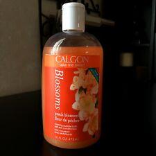 CALGON* 16 oz Bottle BLOSSOMS PEACH BLOSSOM Foaming BUBBLE BATH Ascendia VHTF
