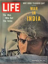 Life Magazine November 16 1962 War in India VG 042216DBE2