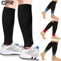 Compression Socks15-20mmHg Relief Calf Leg Support Stocking Men Women Running DS