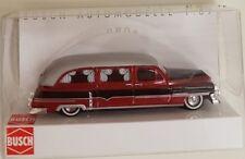 Busch 43459 Escala H0 Cadillac '52 Station Wagon ,Vehículo de Emergencia #