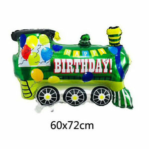 Foil Balloon Animal Food Car Face Birthday Anniversary Party Decor for Kids Gift