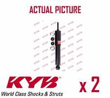 2 x FRONT AXLE SHOCK ABSORBERS PAIR STRUTS SHOCKERS KYB OE QUALITY 344453
