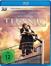 TITANIC (Leonardo DiCaprio, Kate Winslet) 2x Blu-ray 3D + 2 Blu-ray Discs NEU