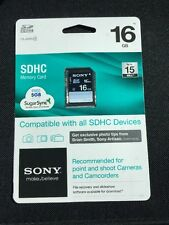 *NEW* Sony 16 GB SDHC Class 4 Memory Card for Camera & Camcorder - SF16N4/WMBF2