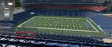 3 MIDFIELD 4th ROW of SECTION Tennessee Titans Season Ticket Rights SBL PSL PSLS