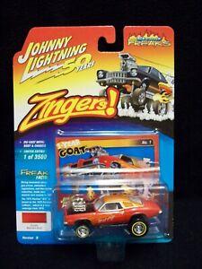 Johnny Lightning Zingers 1973 Pontiac GTO Limited Edition.