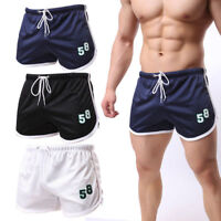 Men's Casual Shorts Athletic Breathable Mesh Running Basketball Trunks Cool dry