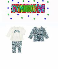 """Gymboree Girls """"We Have Arrived""""Legging/top/sweater 2 Piece Set Size 12-18m New"""
