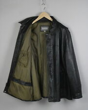 WILSONS LEATHER Men's X LARGE 100% Leather Shell Heavy City Jacket 20694-JS