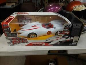SPEED RACER MACH 5 RADIO CONTROL 27 MHZ CAR BY JADA NEW IN BOX