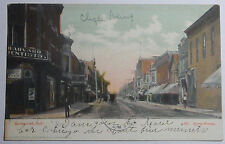 1908 POSTCARD OF DOWNTOWN STATE STREET HAMMOND INDIANA TO VAN WERT OHIO