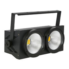 2in1 LED Stage Par Light 2x100W 2-head COB Warm & Cool White DMX512 8CH Wedding