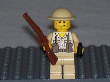 Lego Custom Minifig WW2 Modern Warfare British Soldier Army Builder