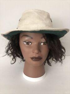 TILLEY ENDURABLES Snap Up HAT Size 7 LIGHT BEIGE