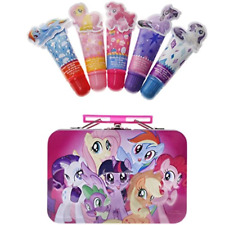 Townley Girl My Little Pony 4 Pack Lip Gloss with Tin, 5 CT