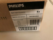 """6pcs Philips SWV2037H/17 Right Angle """"F"""" Connector 90 Degree"""