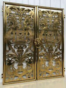 SALE SALE SALE !!!!Stunning Brass/Bronze Gargoyles/Dragon doors