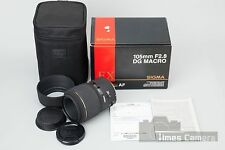 *Near Mint* Sigma EX 105mm f/2.8 Macro DG Lens for Canon EF Mount