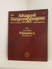 The Complete Psionics Handbook, Advanced Dungeons & Dragons 2nd Ed. (AD&D), RPG