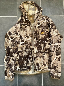 First Lite Men's Corrugate Guide Jacket Size Large Cipher Camo