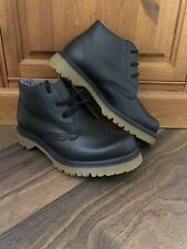 Doc Dr Martens Black Leather Chunky Boots London Underground Shoe UK Size 6.5