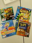 Lot Of 4 Cd-rom Computer Games Spy Lizzy Mcguire Hey Arthur Wendy's Happy Meal