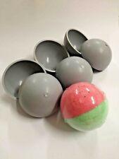 Plastic Bath Bomb Ball Mold set 6 pcs