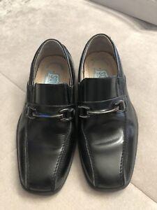 Florsheim Kids Dress Shoes Loafers Black Size 11 M Worn Once